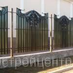 Фото Кованый забор с поликарбонатом... Москва ООО ДОРСТРОЙЦЕНТР