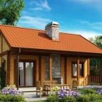Фото Маленький одноэтажный дом, оснащенный всем необходимым для... Ижевск ВМ-Строй |