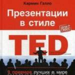 Фото Презентации в стиле TED. 9 приемов лучших в мире выступлений... Москва Интернет-магазин