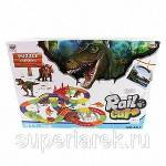Фото Автотрек Динозавры с аксессуарами, 211 деталей... Москва Интернет-магазин SuperLarek.ru