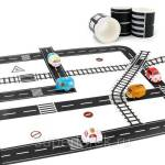 Фото Игровой скотч с дорожной разметкой Умная железная дорога... Москва Интернет-магазин
