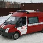 Фото Оперативно-штабной автомобиль службы пожаротушения... Москва АО МРО ТЕХИНКОМ