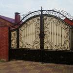 Фото Кованые ворота для частного дома... Санкт-Петербург Производственная компания СпецСтрой