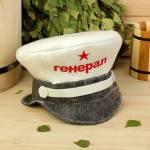 Фото Банная шапка Фуражка.Генерал, войлок, эконом... Екатеринбург СпортУрал - интернет магазин