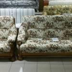 Фото Диван и два кресла цезарь, ткань - гобелен №русское ПОЛЕ,... Ижевск сеть магазинов