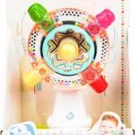 Развивающая игрушка Sensory Вертушка солнышко