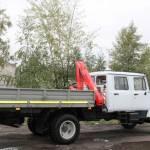 Фото Бортовой автомобиль ГАЗ 33086 Земляк с КМУ... Екатеринбург ООО АСТ