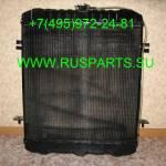 Фото Радиатор охлаждения двигателя для погрузчика JAC CPCD50 с... Москва РУСПАРТС