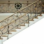Фото Кованые перила для лестницы.... Санкт-Петербург Кузница Микола Кузнец- Кованые изделия от
