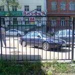 Фото Забор металлический от производителя по чертежам и размерам... Пермь СтальТехМонтаж