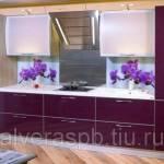Фото Фартук для кухни из алюминия... Санкт-Петербург Алвера окна, жалюзи