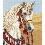 Фото Набор для вышивания Арабский скакун, 19, 5х16, 5 см... Москва Интернет-магазин