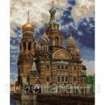 Фото Набор для вышивания крестом Храм Спаса на Крови, арт. 663... Москва Интернет-магазин