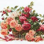 Фото Набор для вышивания крестом Розы, арт. 2-06... Москва Интернет-магазин SuperLarek.ru