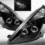 Фото Фары Тойота Селика 01-07, с ангельскими глазками New-Style,... Повсеместно Тюнинг запчасти