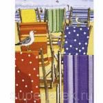 Фото Набор для вышивания крестом Anchor Разноцветные лежаки, арт.... Москва Интернет-магазин
