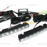 Фото Дневные ходовые огни LED прямоугольные 8 LED+габ. EPISTAR... Повсеместно Интернет-магазин