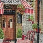 Фото Набор для вышивания Французский городской пейзаж (счётный... Москва Интернет-магазин