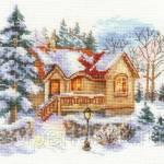 Фото Набор для вышивания крестом Февральский домик, арт. 3-22... Москва Интернет-магазин