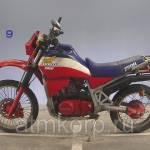 Фото Мотоцикл кроссовый Honda XLV 750 R пробег 8 737км... Повсеместно Группа компаний ООО Шайр