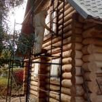 Фото Реставрация дома из бруса... Пермь Абразивсервис