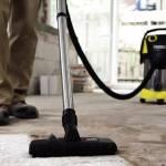 Фото Уборка пола от пыли и песка при помощи пылесоса с покрытием... Краснодар Эксперт бетона