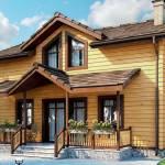 Фото Строительство Деревянного дома из профилированного бруса,... Повсеместно Экодом