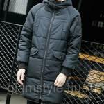 Фото Длинный мужской стильный пуховик с капюшоном. Лидер продаж.... Томск Интернет-магазин