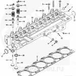Фото Клапан выпускной Cummins 6CT 3921444 3802085 3902254, Аксай... Повсеместно Diesel Parts