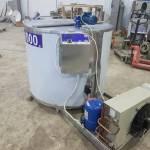 Фото Танк-охладитель молока вертикального типа, V-1000 л,... Повсеместно Агропромтехника