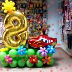 Фото Оформление дня рождения в стиле Тачки... Барнаул Воздушная карусель