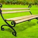 Скамейка садовая (парковая) кованая СкЛн