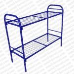 Кровать металлическая двухъярусная, усиленная сетка сварная